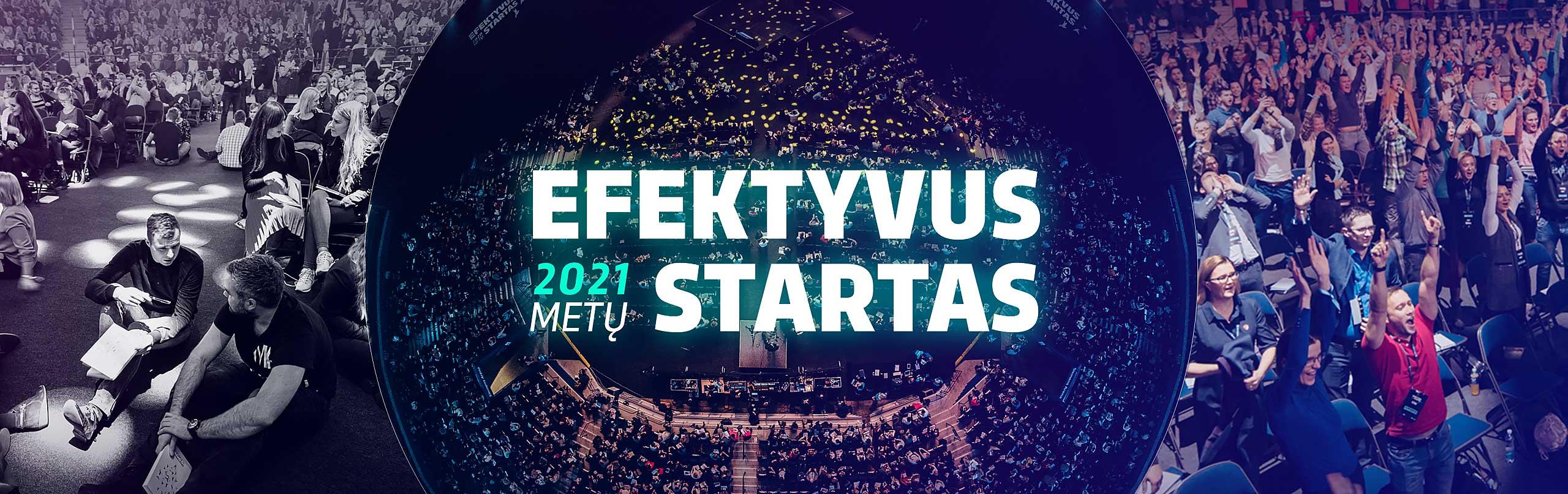 Efektyvus metų startas 2021